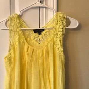Flowy yellow top